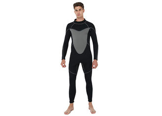 China Slim Mens Full Body Wetsuit With Flatlock / Blind Stitching Technology supplier