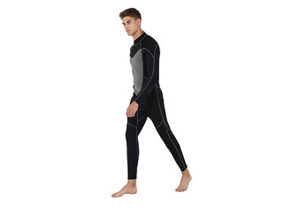 Slim Mens Full Body Wetsuit With Flatlock / Blind Stitching Technology