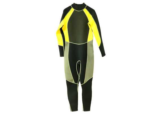 China Watersports 5mm Full Body Wetsuit Front Zippered For Diving Swimming Scuba supplier