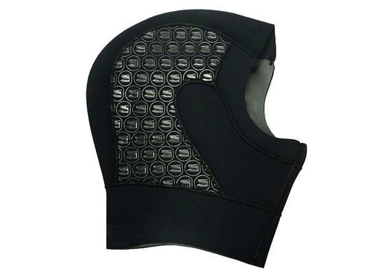 China Comfortable Neoprene Diving Hood Black Color Keep Warm Under Cold Water supplier