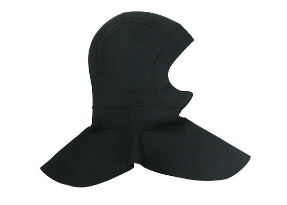 China Professional 2mm Neoprene Scuba Hood Mens With Silkscreen Printing Logo supplier