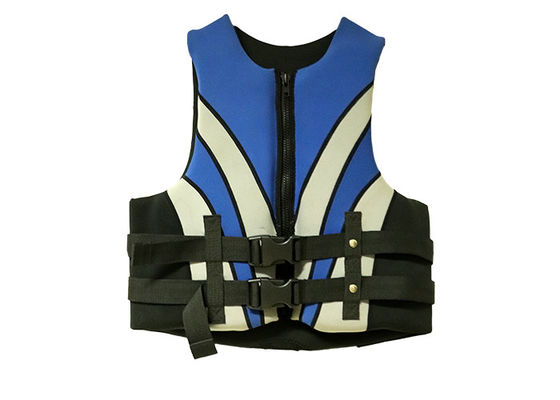 China Watersports Adult Life Jackets , Sports Life Vest With Silkscreen Printing Logo supplier