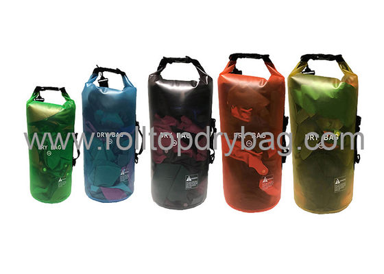 China Silkscreen / Digital Printing Transparent Dry Bag For Swimming Water Sports  supplier