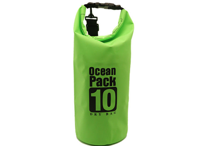 48946af309 Durable Small Roll Top Dry Bag 10 Liter Water Resistant Custom Screen  Printing