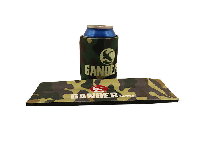 3mm spring personalized beer koozies picnic beer can cooler sleeve