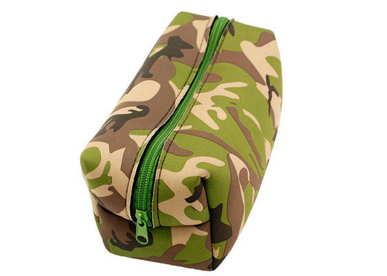 Large Travel Waterproof Zippered Cosmetic Bag Camouflage With Oem Service