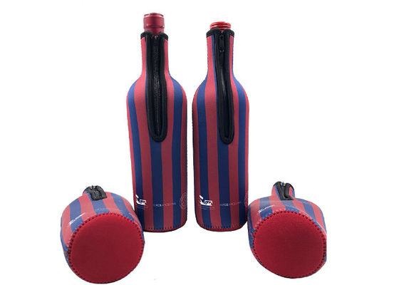 Promotional Insulated Wine Bottle Holder Full Sublimation Fit 750ml Champagne