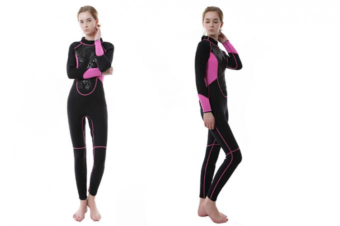 Ladies Full Body Scuba Suit Smooth Skin Multi Color Optional For Water Sports