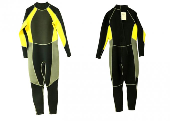 Watersports 5mm Full Body Wetsuit Front Zippered For Diving Swimming Scuba