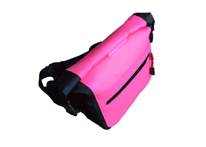 Camping Watersports Waterproof Waist Bag Outdoor With 500d Pvc Material